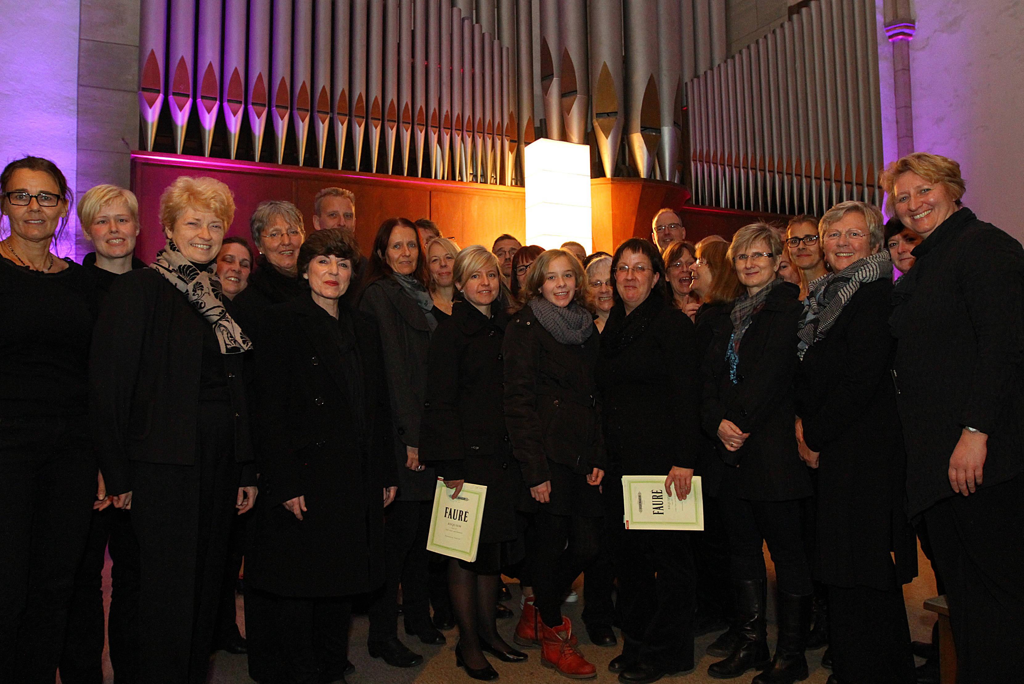 Vokalensemble am Mergelteich in der Grabeskirche