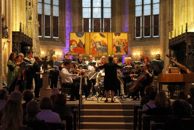 Vokalensemble am Mergelteich - Marienkirche 2016