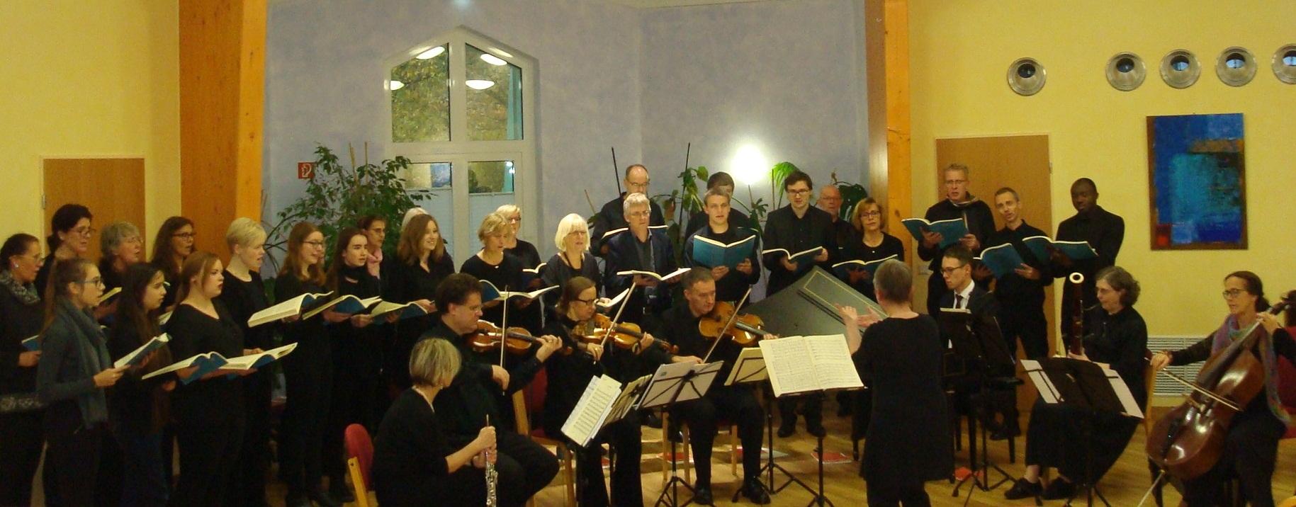 Stoffregensaal-Konzert Vokalensemble am Mergelteich November 2017