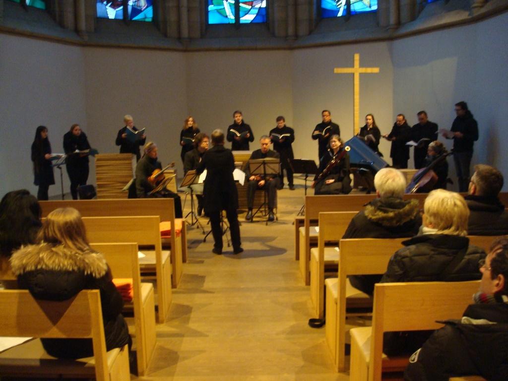 ChiC beim Konzert in der Dortmunder Grabeskirche